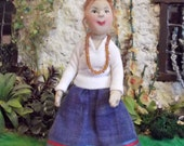 Softsculpture Dolls House Doll - Caro