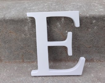 Monogram E Letter Wall Hanging Wedding Decor