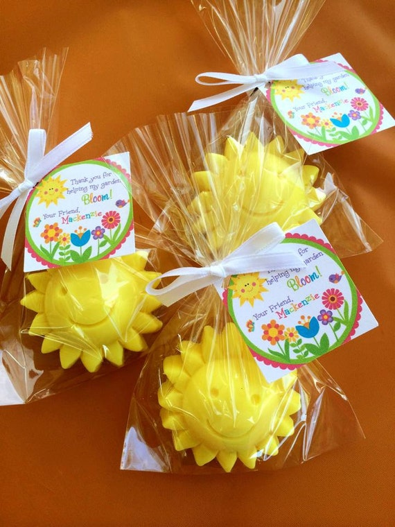 10 Sun Soaps Favors Sunshine Party Summer Birthday Party