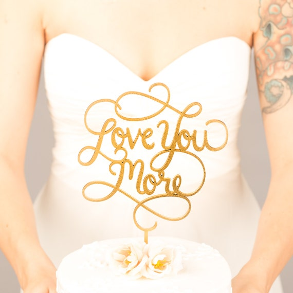 21 of the Best Wedding Cake Toppers on Etsy | shopswell