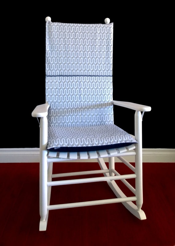 rocking chair cushion cover dwell studio maze by