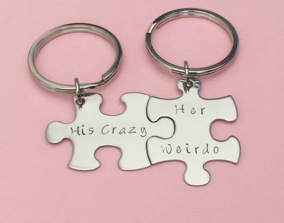 Crazy Wedding Gifts: Anniversary Gift His Crazy Her Weirdo By Customhemptreasures