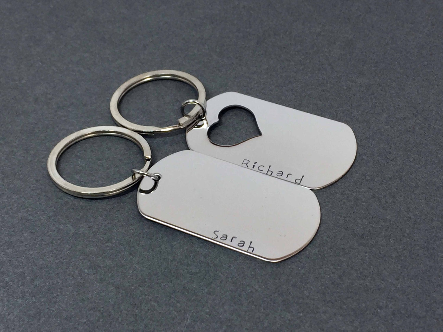 Personalized Dog Tags For Couples