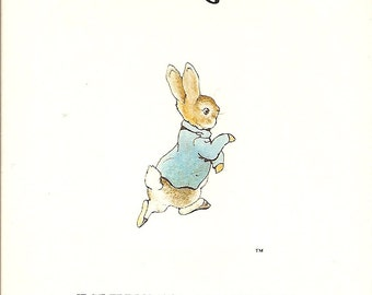 The Tale of Peter Rabbit - SALE