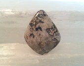 Black Lace Agate Gemstone Cabochon by Pocket Rock Designs