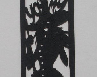 Papercut Bookmark: The Wicked Witch of Oz