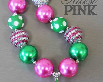 Dreaming of a Pink Christmas Necklace