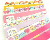 Wonderland Page Flags/Sticky Notes