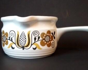 Folklore Ironstone Ware by Myott sauce boat