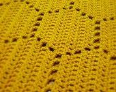 Crochet Afghan Pattern Honeycomb