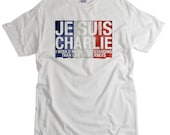 Je Suis Charlie T-shirt Stand strong with France tee shirt Paris France Charlie tshirt for men women kids