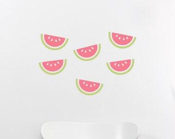 Watermelon Slices Nursery Kids Wall Decal Wall Sticker