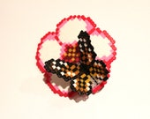 Perched Butterfly - Hairclip