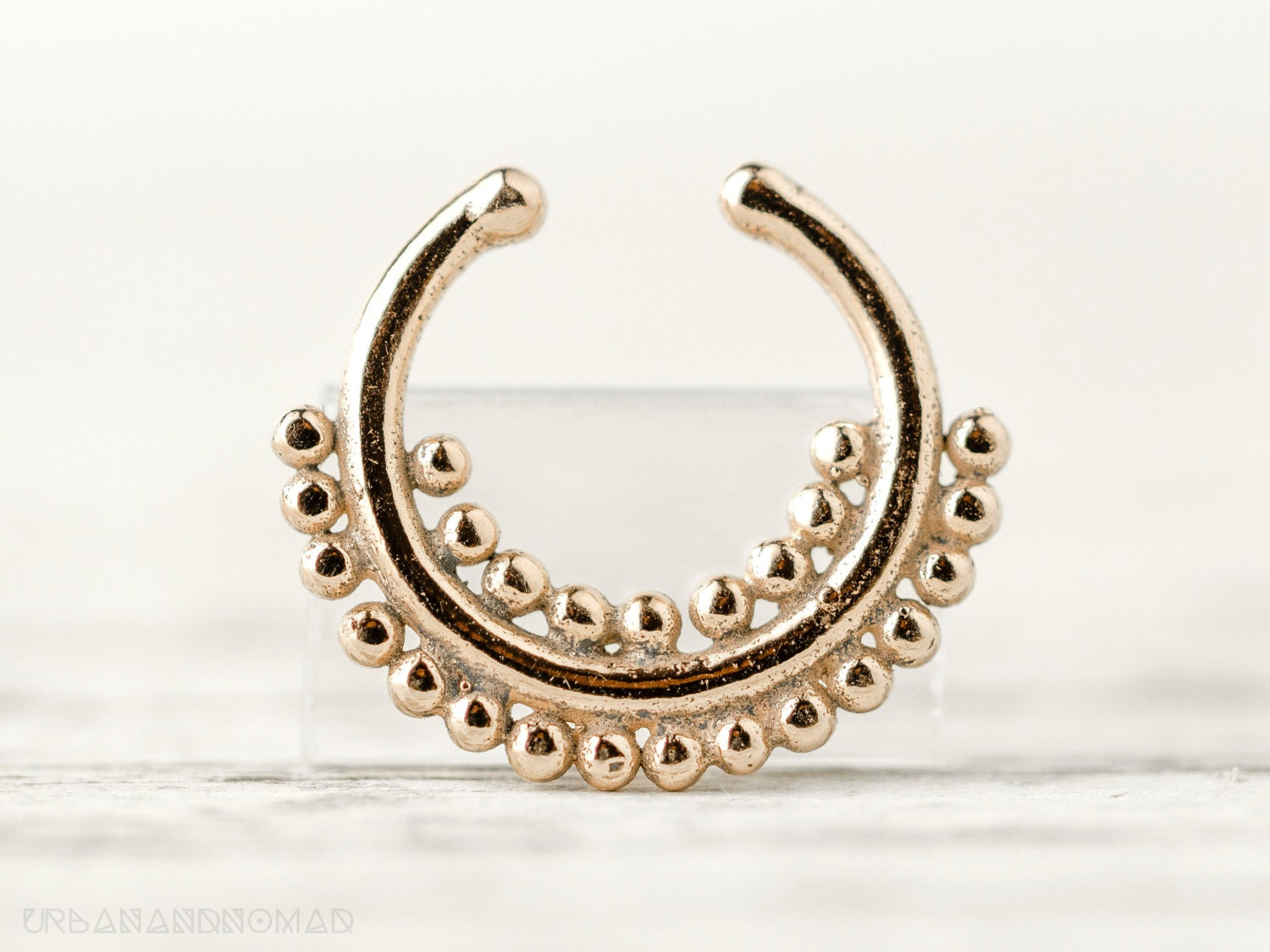 septum piercing nose ring jewelry by