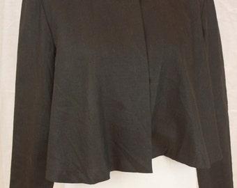 Vintage Cropped Basco Flare Blazer Size Medium