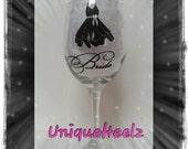 Wedding Keepsakes - Wedding Gift - Wine Glass - Bridesmaid Gift - Personalized