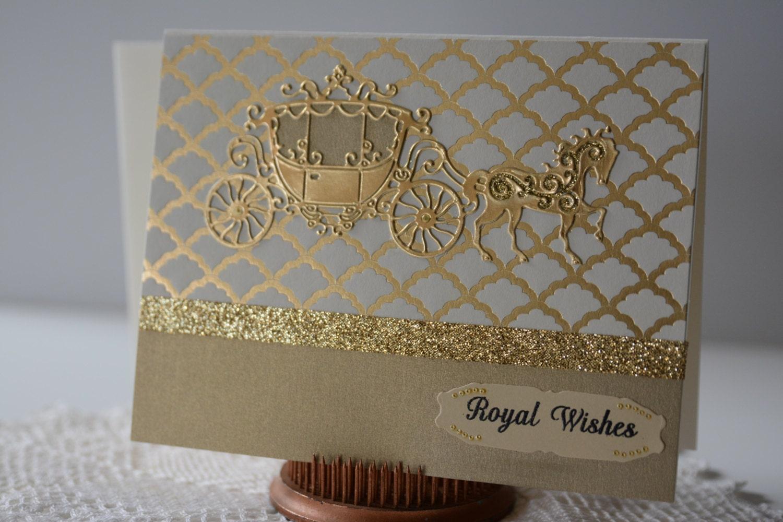 elegant wedding card wedding handmade greeting card