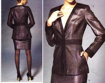Brand New PAMELLA ROLAND  American Designer Pattern v1279 Size 16-24 Misses Jacket and Skirt Uncut Factory Folded