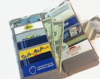 Credit card Holder, Women's Wallet, Wallets, Card Wallet, Money Holder, Fabric Wallet, Wallets for Women
