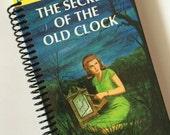 Journal Notebook NANCY DREW Mysteries storybook The Secret of the Old Clock by Carolyn Keene