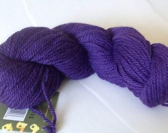 SALE 48 % Off 50g/1.76oz Llama-Merino-Angora Tuhu DK Yarn by Mirasol #2013 Electric purple