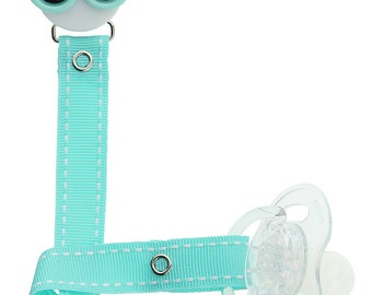 Sunglasses Mint Green Pacifier Clip (msrp 18.00)