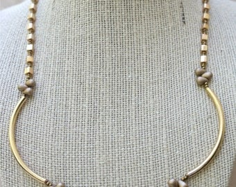 Necklace - Simply Golden
