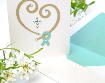 """Cancer Card: """"Love & Faith"""""""