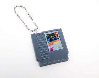 Metroid NES Cartridge Keychain