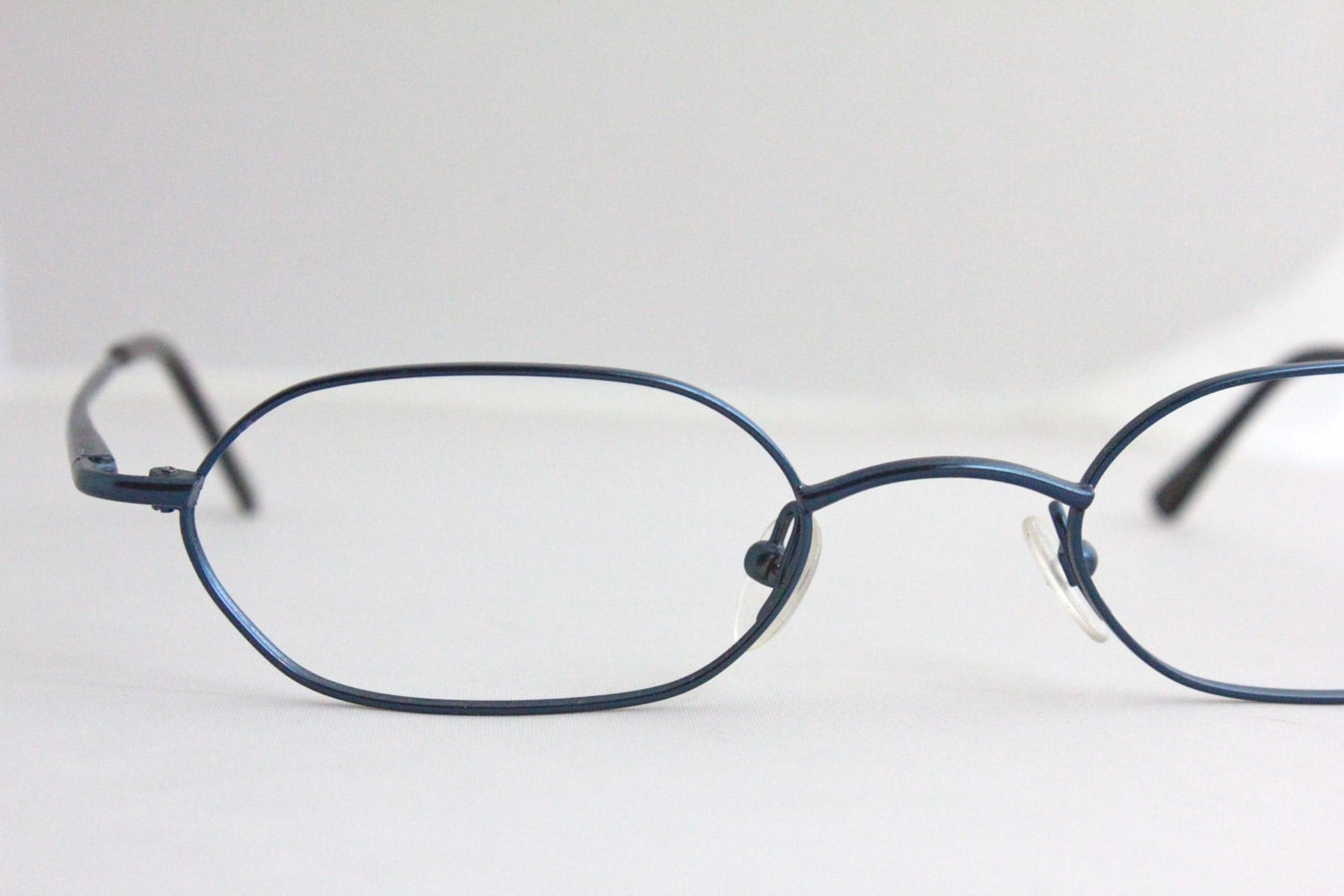 Vintage Metallic Cobalt Blue Wire Eyeglasses Sunglass by ...