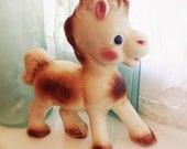 Vintage Rempal Pony, Frisky the Pony, Childs Room Decor, Vintage Baby Room