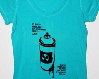 Radical Environmental, Women's T-shirt Anarchist