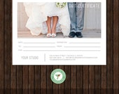 INSTANT Download 5x7 Digital or Print Gift Certificate Template - GC4