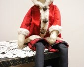 Santa Doll, Faceless Christmas Doll