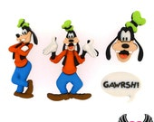 DISNEY GOOFY Dress It Up Licensed Jesse James Buttons Or Turn them into Flatback Cabochons