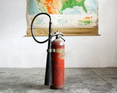 C-O-TWO Hand Fire Extinguisher with Large Horn Nozzle, c.1940s