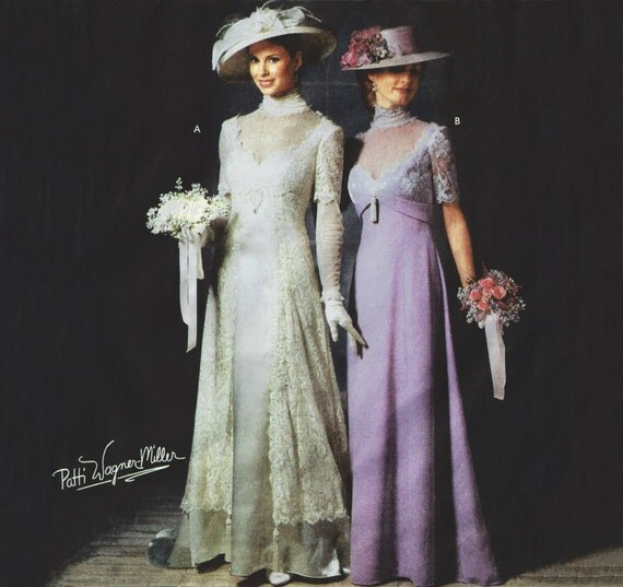 Titanic Era Dress Edwardian Gown 1910 Historical Wedding