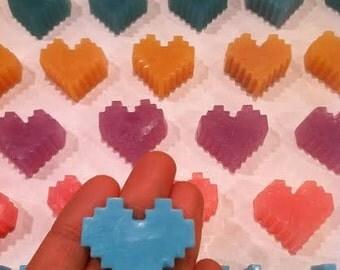 Be MINE Valentine (24) - MINEcraft Inspired Classroom Valentine's Day Soaps