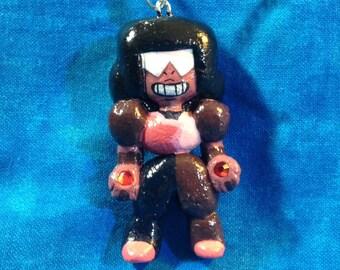 Garnet Charm Necklace / Steven Universe Ornament