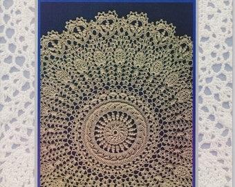 Victorian Spiral Doilies - Crochet book by Patricia Kristoffersen (six patterns); home decor