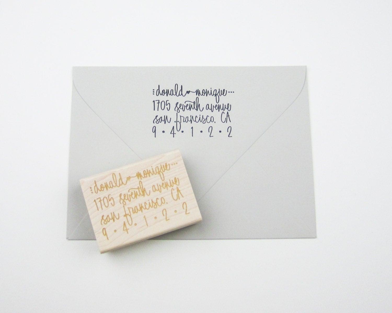 Custom Address Stamp Return Address Stamp Address