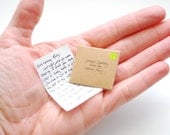 Letter from The Tooth Fairy- tiny and personalized, handwritten