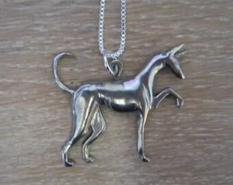 Ibizan Hound Necklace - Podenco Beezer Jewelry