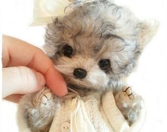 "PDF Instant Download - Pattern / E-Book Yorkshire Terrier Puppy  ""  MiMi "" :) - 8.7 ""  - Eileen Seifert - Teddy-Manufaktur.de"