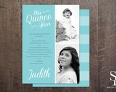 DIY Quinceanera Invitation, Quinceaños Invite, Sweet 15 Invitation, Mis Quince, Quinceanos Invite, Photo Card, Printable