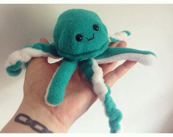 Handmade Jerry the Jellyfish ( Choose your own Colors!! )