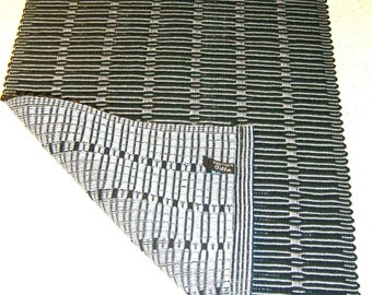 Black&Gray- Table Runner, Hand woven, cotton