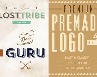 Premade Logo Design Branding Watermark Premium Custom Logo Template