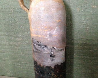 Now on Sale -Georg Kreuzberg Ahrweiler Rheinpreussen Hand Painted Jug