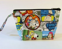 Family Guy Comics Make Up Bag - Accessory - Cosmetic Bag